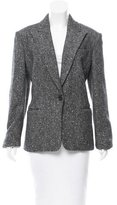 Michael Kors Virgin Wool Single-Button Blazer