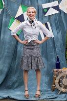 Shabby Apple Sutton Fit & Flare Skirt Grey