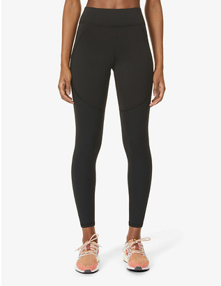 Michi Mystic ribbed stretch-woven leggings