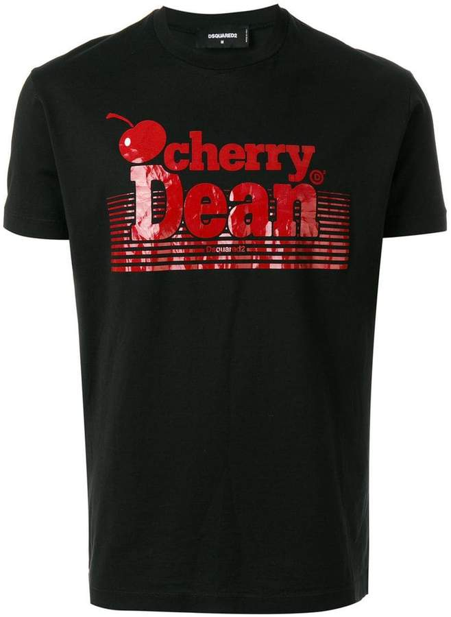 DSQUARED2 Cherry Dean print T-shirt