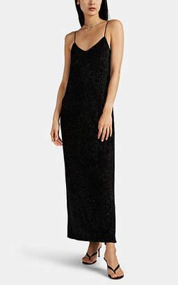 Maison di Prima Women's Glitter Maxi Slipdress - Black