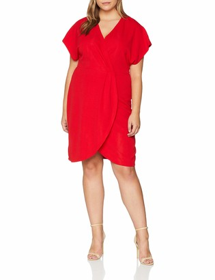 Yumi Women's Wrap front dress
