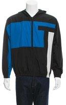 Alexander Wang Colorblock Windbreaker Jacket