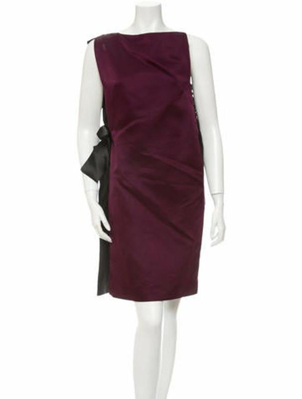 Lanvin Silk Dress w/Tags Purple