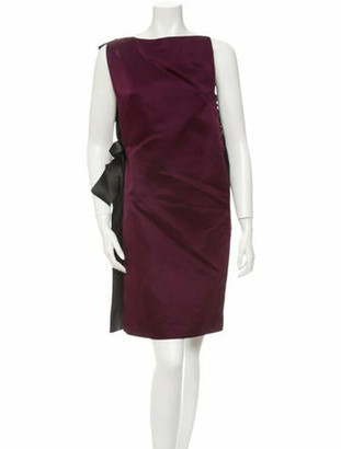 Lanvin Silk Dress w/Tags Purple