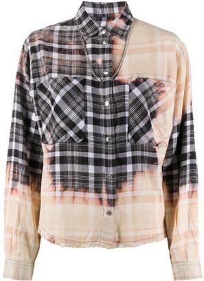 Diesel Bleached Check Shirt