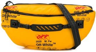 Off-White Logo Print Messenger Bag
