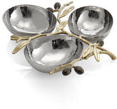 Michael Aram 'Olive Branch Gold' Triple Dish