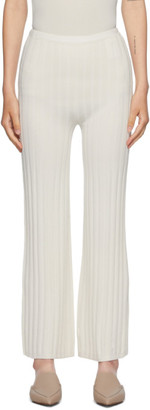 Totême Off-White Cour Lounge Pants
