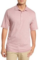 Bobby Jones Men's Riverside Heather Stripe Polo