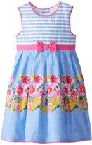 Jo-Jo JoJo Maman Bebe Party Dress (Baby) - Blue-12-18 Months