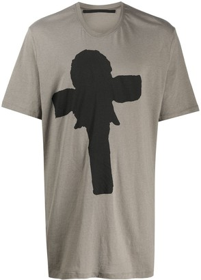 Julius Joseph Beuys-print cotton T-shirt