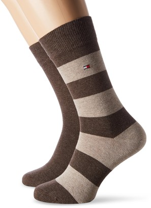 Tommy Hilfiger Men's TH RUGBY SOCK 2P