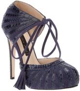 Chrissie Morris lace up stiletto shoe