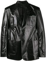 Balenciaga Sheen leather jacket