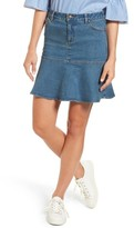 Draper James Women's Flared Denim Skirt