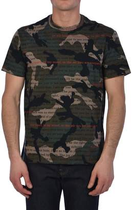 Valentino T-shirt Military Green