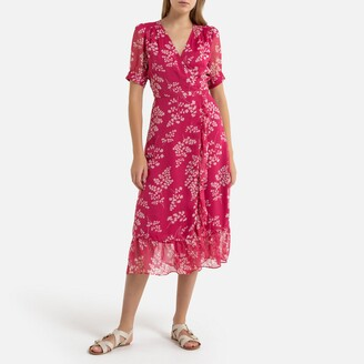 Petite Mendigote Amelia Printed Voile Dress