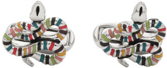 Paul Smith Silver Snake Cufflinks