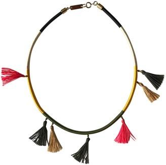 Isabel Marant Khaki Metal Necklaces