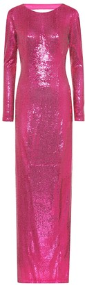 Galvan Exclusive to Mytheresa sequined gown