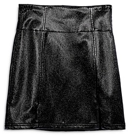 Free People Holding Onto A Dream Coated Mini Skirt