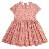 Marie Chantal Short Sleeve Liberty Shirt Dress
