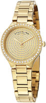 Stuhrling Original Womens Gold Tone Bracelet Watch-Sp14922