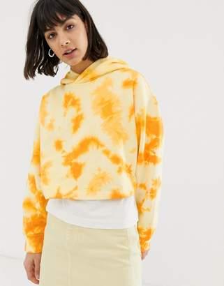 Weekday Ninja tie dye hoodie