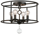Crystorama Cameron 4-Light Semi-Flush