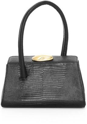 Little Liffner Baby Boss Lizard-Embossed Leather Bag