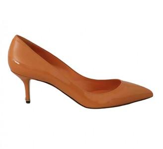 Dolce & Gabbana Orange Patent leather Heels