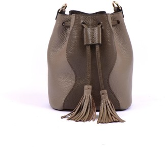 Atelier Hiva Mini Rivus Leather Bag Mink & Sand
