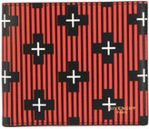 Givenchy stripe and cross foldover cardholder - men - Calf Leather - One Size