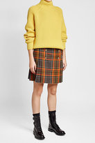 The Kooples Skirt with Wool and Embossed Buttons