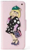 Kate Spade Miss Piggy Iphone 7 Folio Case - Pink