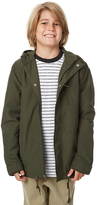 Billabong Kids Boys Del Ray Jacket Green