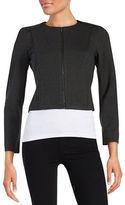 Calvin Klein Petite Zip Front Jacket