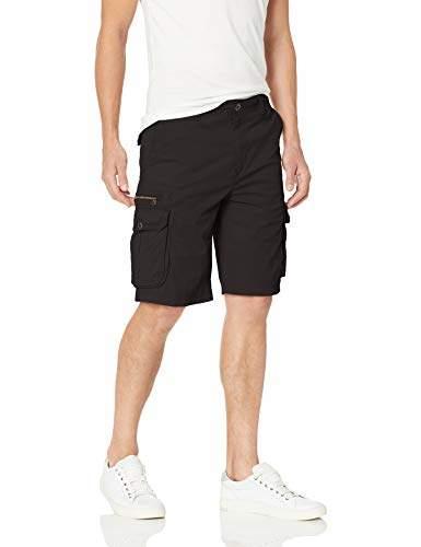 UNIONBAY Men's Stretch Fresh Twill Relaxed Fit Zipper Cargo Short