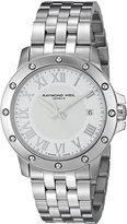 Raymond Weil Men's 5599-ST-00308 Tango Analog Display Swiss Quartz Silver Watch