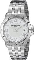 Raymond Weil Men's 5599-ST-00308 Tango Analog Display Swiss Quartz Silver Watch