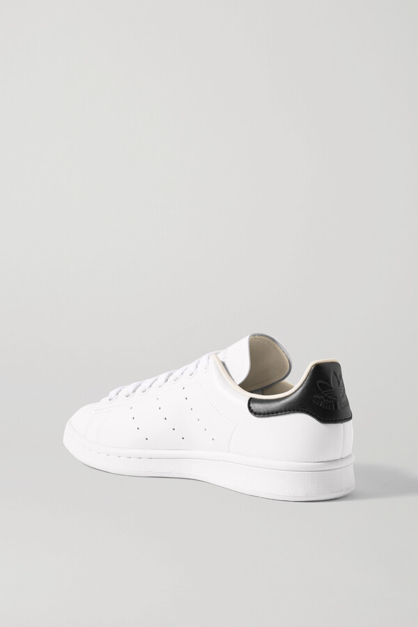 Thumbnail for your product : adidas + Net-a-porter Stan Smith Vegan Leather Sneakers - White