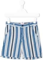 Il Gufo striped casual shorts