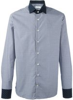Etro contrast collar and cuffs shirt