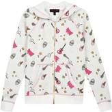 Juicy Couture Cozy Fleece Juicy Doodles Jacket