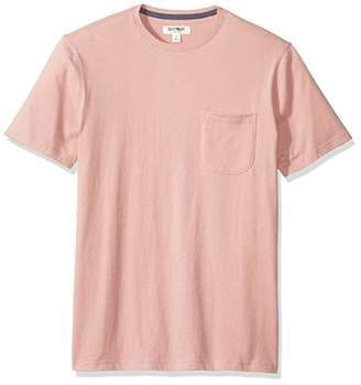 Goodthreads Men's Short-Sleeve Sueded Jersey Crewneck Pocket T-Shirt,Large