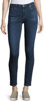 AG Jeans Prima Mid-Rise Cigarette Jeans, Blue