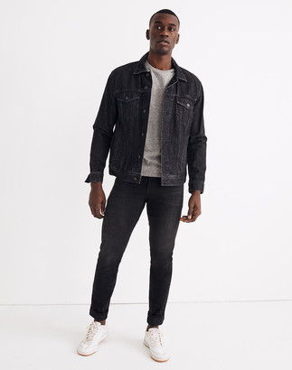 Madewell Selvedge Athletic Slim Authentic Flex Jeans in Northfleet Wash