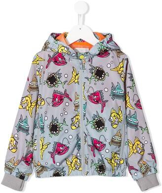 Stella Mccartney Kids Fish Print Jacket