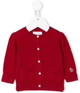 Ralph Lauren Kids long-sleeve buttoned cardigan